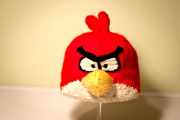 Foul fowl hat - red